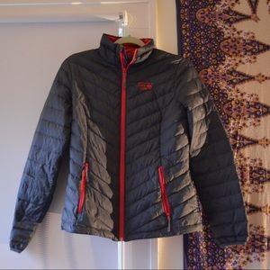 Mountain Hardwear Grey down jacket